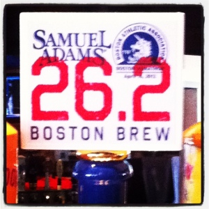 boston marathon, hot marathon, moms running, running in heat, run, samuel adams 26.2 boston brew